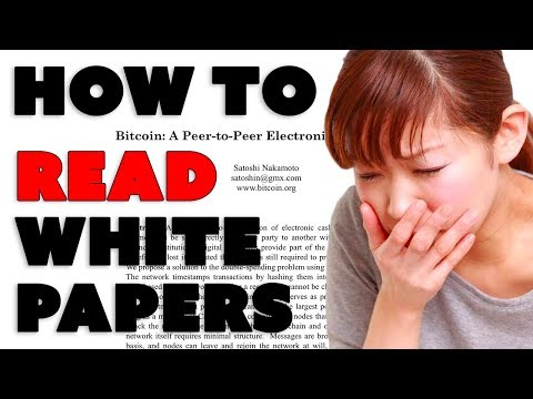How to Read a White Paper for Cryptos and ICOs