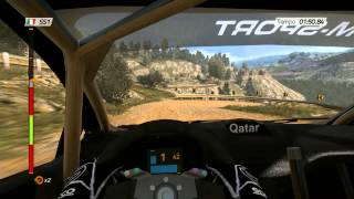 WRC 4 gameplay - Rally Italia Sardegna (PC)