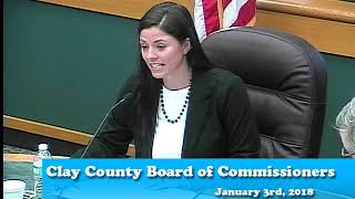 B190103A - 1/03/19 - Clay County MN Board of Commissioners