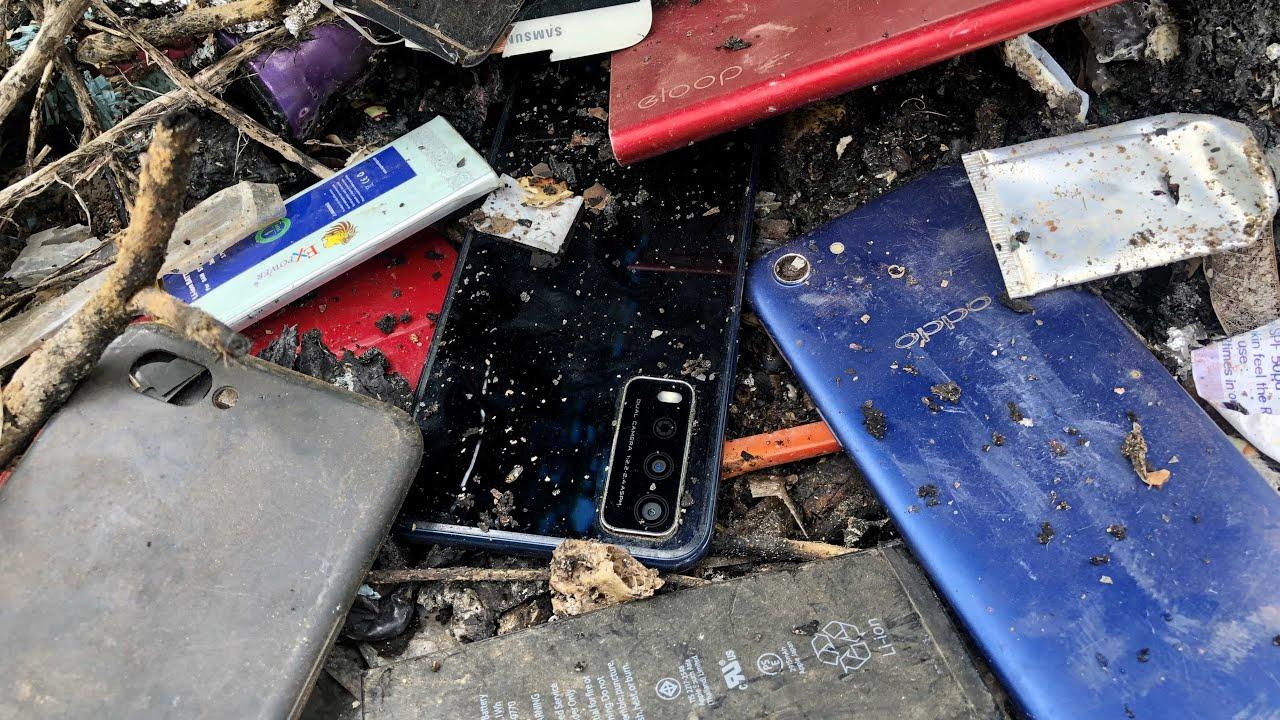 Restoring abandoned destroyed phone | Found a lot of broken phones for restore vivo y12s