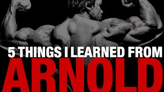 Arnold Schwarzenegger Workout Tips (5 THINGS I LEARNED!)