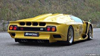 Ultra-RARE Lamborghini Diablo GT1 Stradale - Start Up, Revs & Overview!