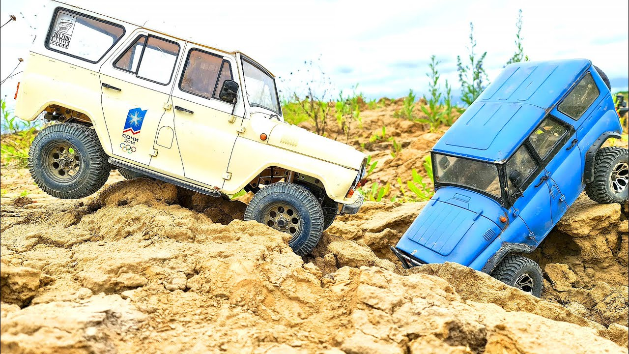 UAZ 469 and UAZ Hunter - Best Russian Cars Extreme OFF Road 4x4 PT2