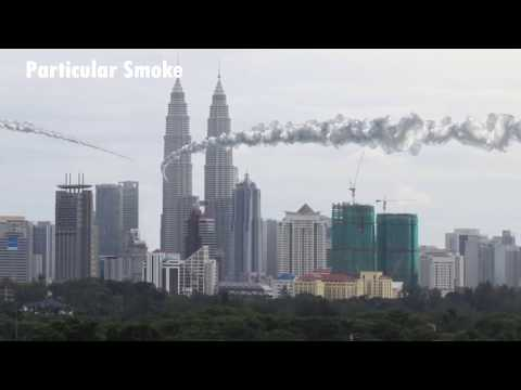 Missile hit KLCC and collapse VFX Motion Graphic
