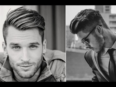 Mens Hairstyles Shaved Sides Quiff Youtube