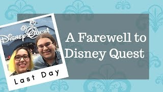 A Farewell to Disney Quest | 4th of July Week Trip Day 2 | Carrazana Diaries