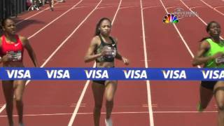 Allyson Felix becomes 400m US Champ - from Universal Sports