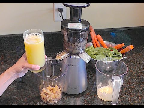 Qvc Retro Slow Juicer : Juicepresso Review - YouTube