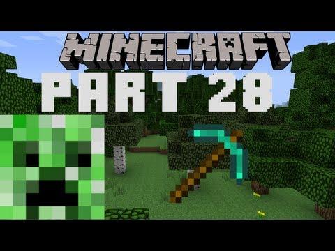 Lets Play Minecraft Part 028: Diamond Digger!
