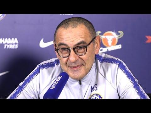 Maurizio Sarri Full Pre-Match Press Conference - Arsenal v Chelsea - Premier League