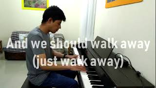 Alle Farben feat. James Blunt - Walk Away (Piano Cover)