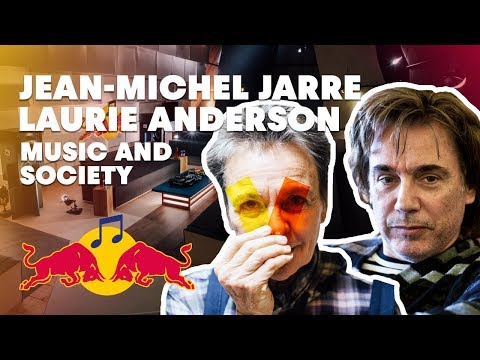 Jean-Michel Jarre and Laurie Anderson Lecture (Paris 2015)   Red Bull Music Academy