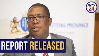 WATCH LIVE   Panyaza Lesufi releases report into Enoch Mpianzi's death at school camp