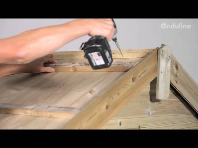 Made By Me How To Install Onduline Roofing Step By Step Youtube
