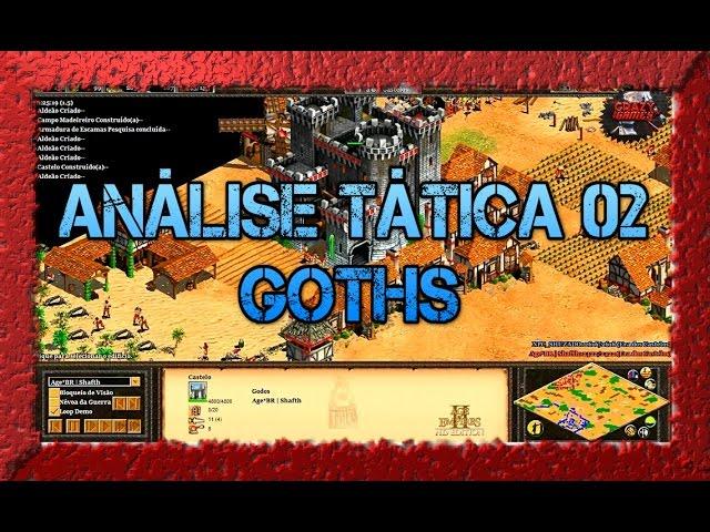 Age of Empires 2 HD 1x1 arabia Goths x Japanese AoE2HD Gameplay