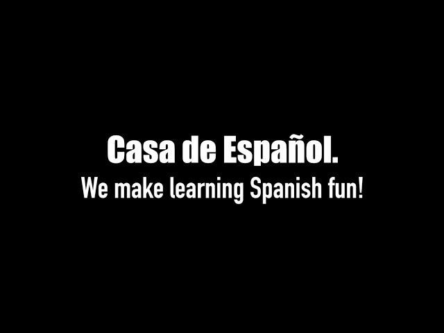 Casa de Espanol. Company Video. (Spanish).