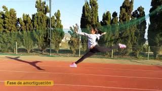 Análisis de la zancada de gimnasia rítmica. Celia González. FCAFD