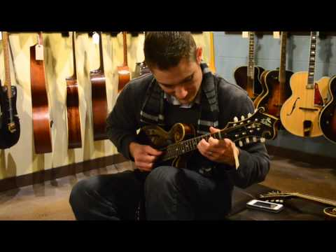 Carter Vintage Guitars - Andy Leftwich on the Drunk Loar