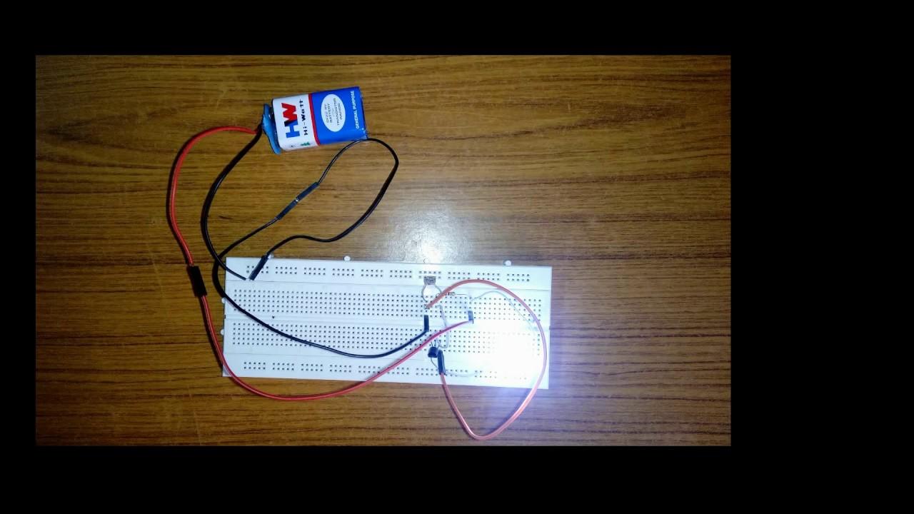 Automatic Night Light Diy Ldr Sensor Youtube