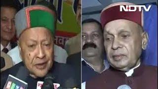 Mission Himachal 2017 : PK Dhumal vs Virbhadra Singh Again