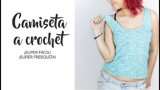 Cómo Hacer Una Camiseta A Crochet Fácil Youtube
