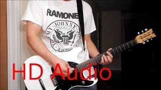 Ramones – Sheena Is A Punk Rocker (Guitar Cover REMAKE), Barre Chords, Downstroking, Johnny Ramone