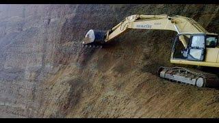 Worst Excavator Crashes Compilation! Crazy machines