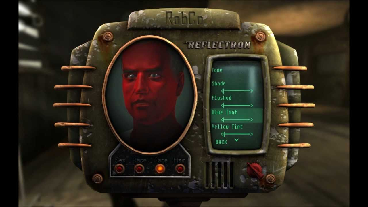 Fallout New Vegas Radical Character Making Youtube