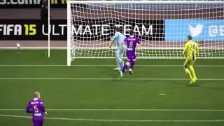 FIFA 15  ГОЛ С ЦЕНТРА ПОЛЯ