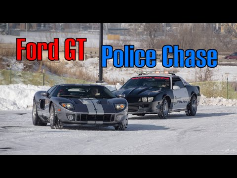 Ford Gt Police Chase