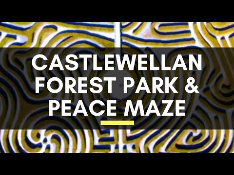 Castlewellan Forest Park & Peace Maze - Check out the Lake, Castle, Walks, Mountain Biking & More!