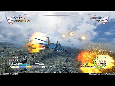 RPCS3 PS3 Emulator - After Burner Climax Ingame! DX12