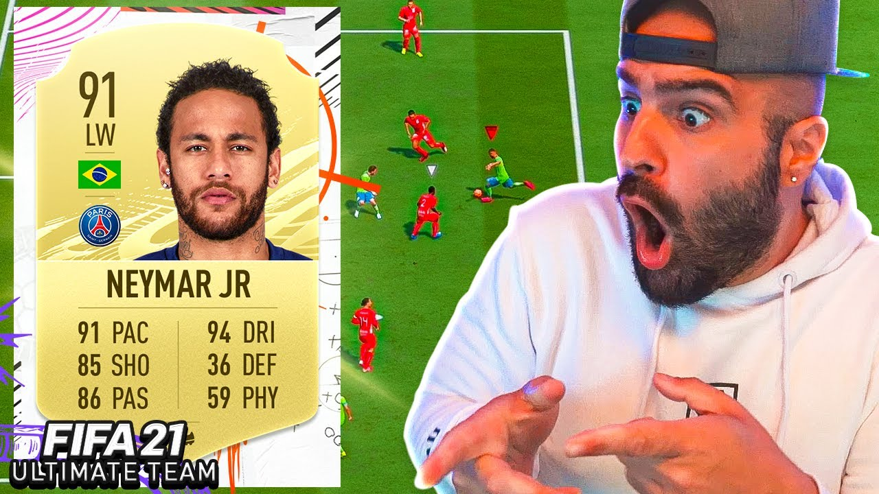 YOU NEED NEYMAR IN FIFA 21... THIS DUDE IS INSANE !!! FIFA 21 Ultimate Team