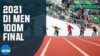 Men's 100m - 2021 NCAA track and field championship