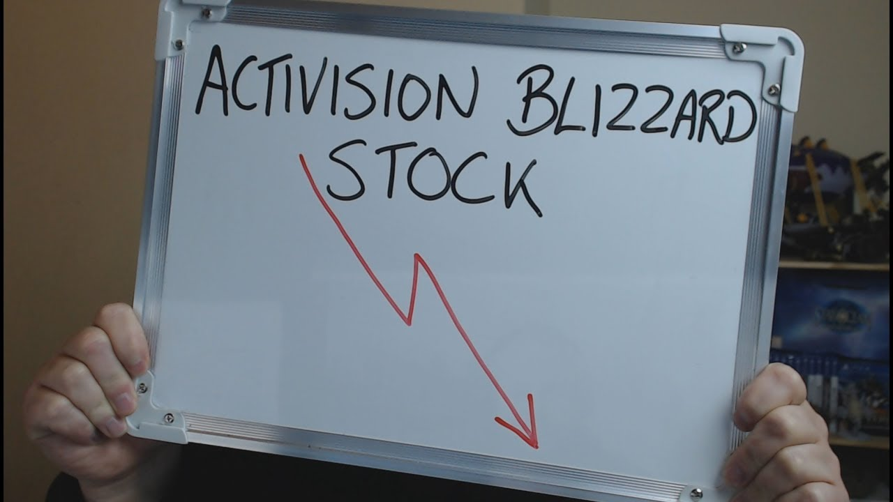 Activision Blizzard Stock Price Falls Following Blizzcon Youtube