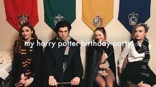 One of gowithflick's most viewed videos: My Harry Potter Themed 18th Birthday Party