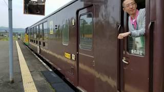 JR北海道DE15 1535+50系客車 富良野・美瑛ノロッコ3号 富良野線富良野到着