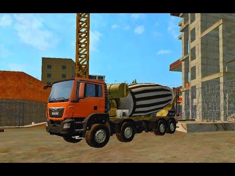 Farming Simulator 2017 GRAVEL and CONCRETE transport
