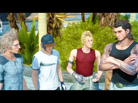 Final Fantasy 15 - 122 Minutes Gameplay Walkthrough 2+ Hours of EPIC Gameplay