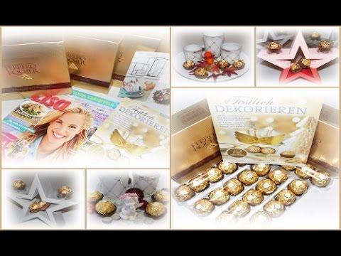 Lisa Freundeskreis / Ferrero Kreativ Projekt / Tischdekorationen mit ...