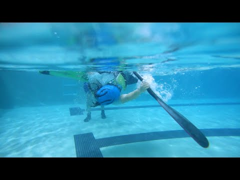 Learn to do an Eskimo roll: A kayaker's method of self-rescue