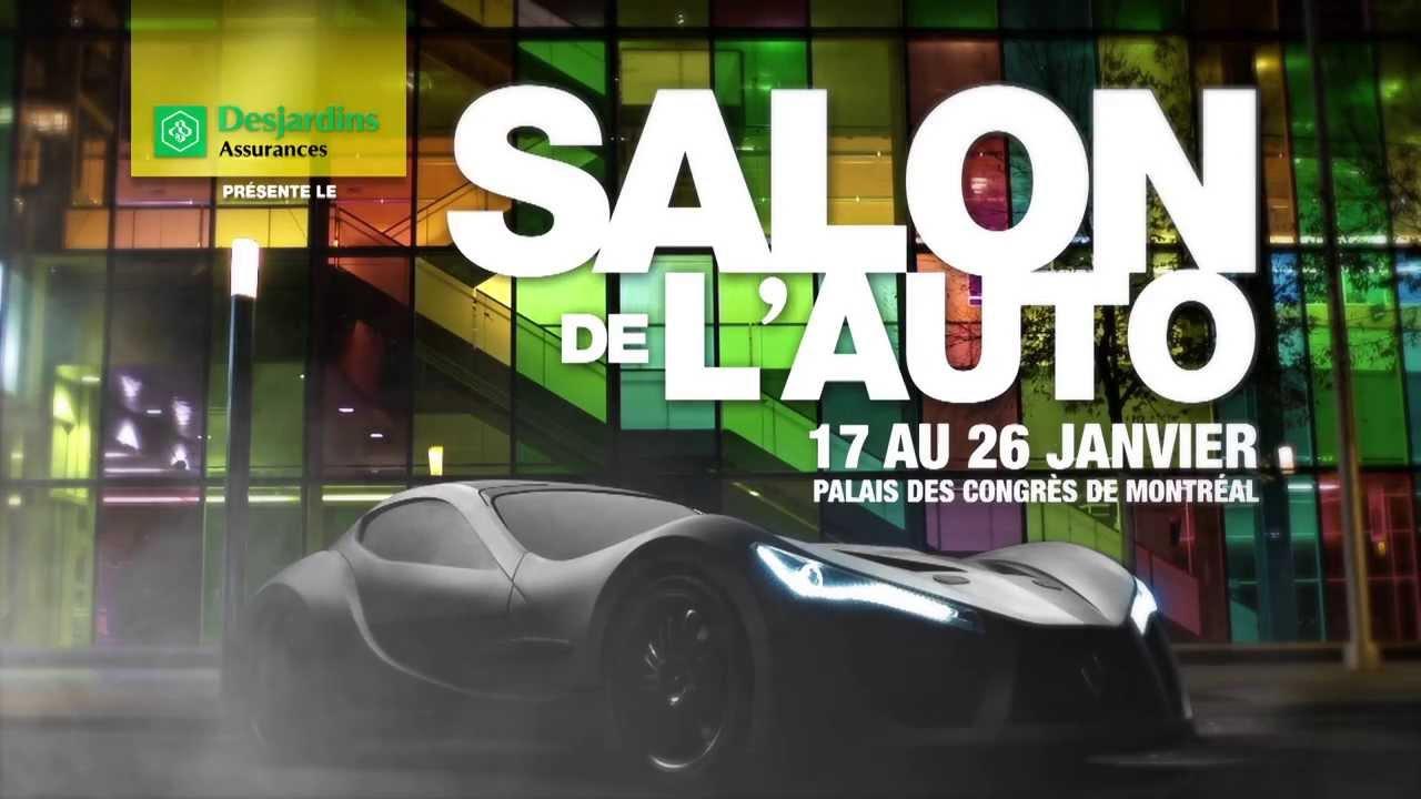 Spot tv salon de l 39 auto de montr al 2014 officielle - Salon de l auto de montreal ...