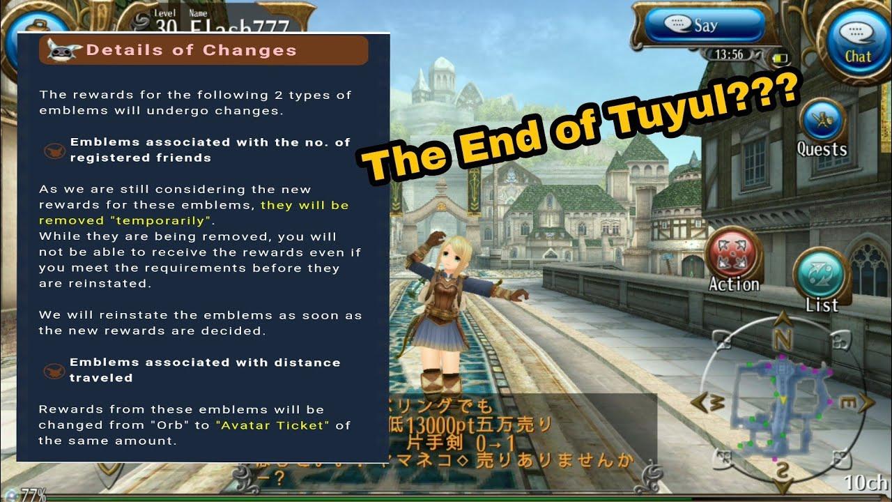 Toram Online : Friend gifts not an orb again?