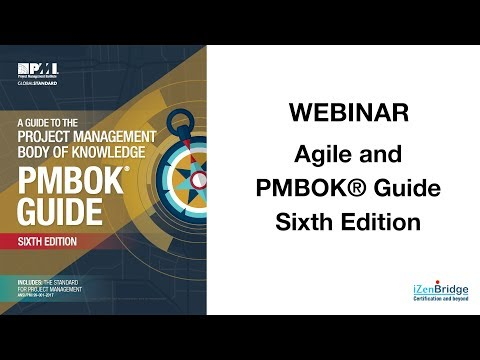 Agile and PMBOK® Guide Sixth Edition! (31 January 2018)