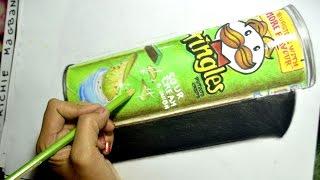 Drawing Realistic Pringles | TCA