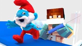 Minecraft: CIRURGIA NO SMURF !! - ( Minecraft Cirurgia )