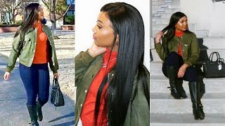 3 IN 1 GRWM! HAIR, MAKEUP,  OUTFIT Casual Slay!   Premierlacewigs