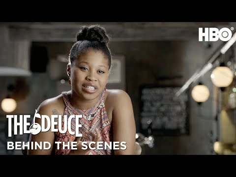 Meet Dominique Fishback aka Darlene | The Deuce | HBO - YouTube