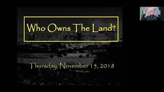 Who Owns The Land