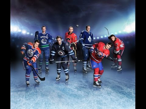 How The Globe brought seven NHL stars together for a collectible cover poster
